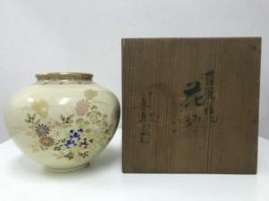 薩摩焼の花瓶