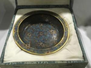 中国七宝焼の皿
