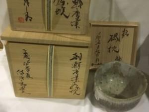 朝鮮唐津茶碗