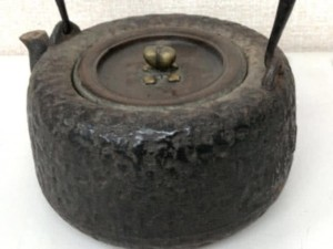 龍文堂製 鉄瓶