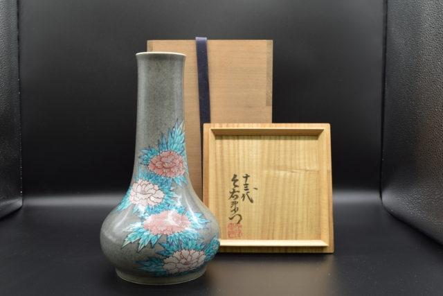 色鍋島 花瓶