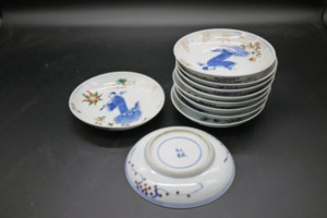 中国磁器 小皿