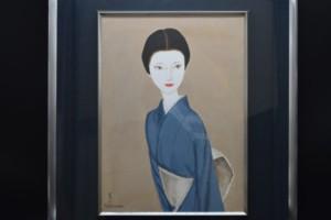 高沢 圭一 絵画 着物美人画